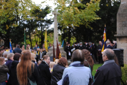 Remembrance Day Parade Sawtry.