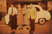 The Sisman family of Sawtry. Wally's 25th wedding anniversary.