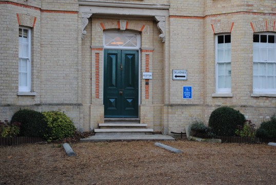 Main doorway to Whitehall Coppinford Road Sawtry. (This is the original door)