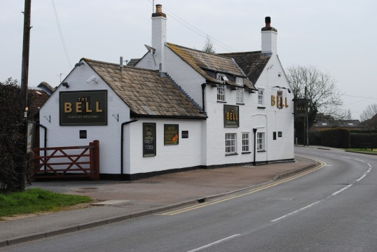 The new look of The Bell Public House, Sawtry.