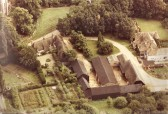 Aerial view of Church Cottage,Glatton. (Rear view)