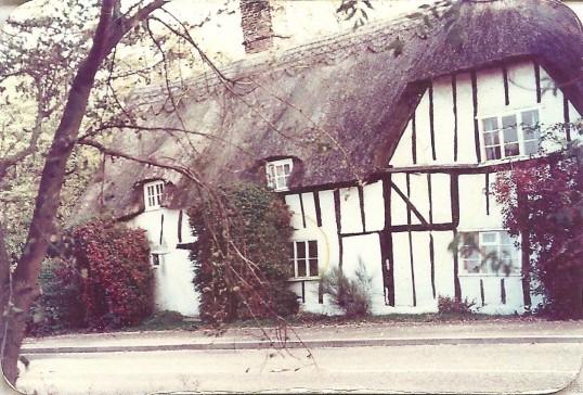 Allways Cottage, Glatton. (Once the home of writer Beverley Nicholls)