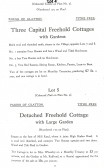 From the Catalogue of the sale of The Glatton Hall Estate, Glatton Village.