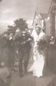 Infant School Teacher Vera M Stanyon marries Rev'd Frank E Reedman,at the Methodist Chapel, Sawtry.