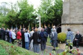 90th Anniversary & Rededication of Sawtry War Memorial.(Gathering for the Rededication)