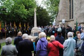 90th Anniversary & Rededication of Sawtry War Memorial.(The Service begins)