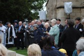 90th Anniversary & Rededication of Sawtry War Memorial.(Everyone singing joyfully.)