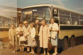 Darby & Joan Club of Sawtry, on an outing to Hunstanton, Norfolk.