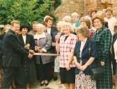 Opening of the wheelchair access at Sawtry W I Gidding Road Sawtry.