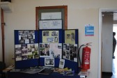 W I stand at, Sawtry History Society's Open Day Weekend, held in the Old School Hall, Sawtry.