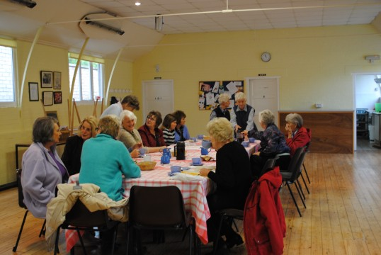 Coffee morning at Glatton Village Hall,Glatton, held on the 1st Monday in the month everyone welcome.