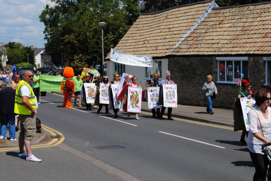 Sawtry Carnival Parade and Celibrations (Sawtry Winemaker's Society).