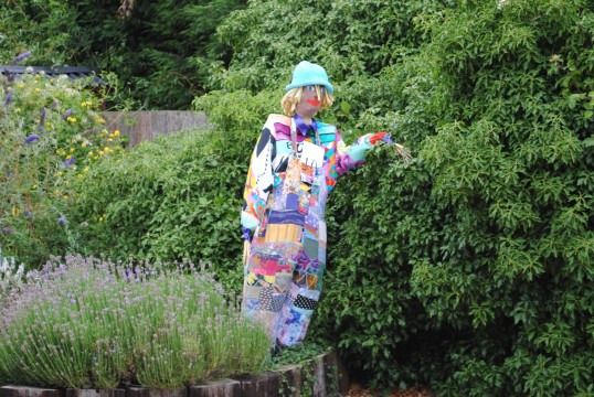 The Sawtry, Scarecrow Trail, (Harlequin)
