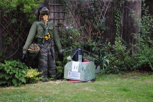 The Sawtry, Scarecrow Trail, (Help for Heroes)