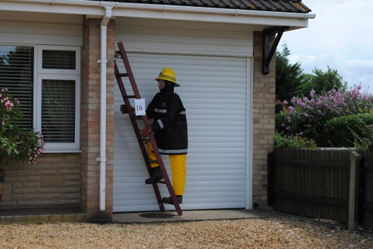 The Sawtry, Scarecrow Trail, (The Fireman)