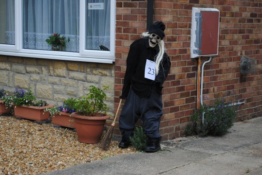 The Sawtry, Scarecrow Trail, (The Living Dead)