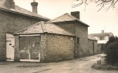 Original Fire Station and Lock-Up Sawtry, dating back to 1850. Lock-Up aquired by Parish Council in 1901.