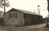 Sawtry Fire Station just before demolition.New one was nearly finished being built, now in Green End Road.