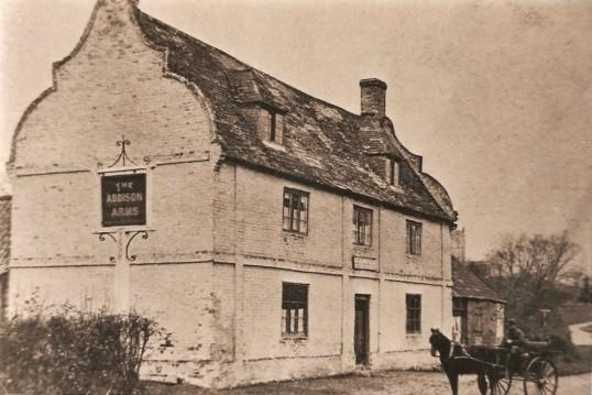 The Addison Arms, Glatton.