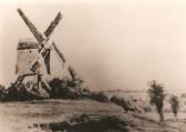Glatton Mill, Mill Hill ,Glatton Village. This was a Post Mill.