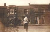 Glatton Hall, Glatton Village. Note the large windows on the right of the Ballroom.