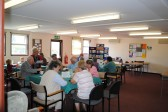 Caresco's Friday Coffee morning, in Sawtry. Sawtry Archives memory gathering day.