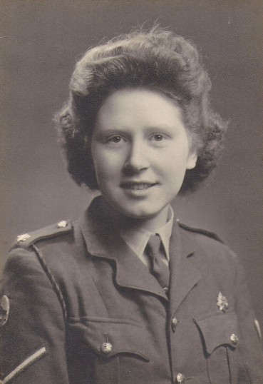 Peggy Wright of Sawtry. (now Mrs Fielding)