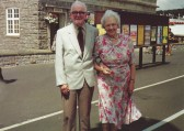Frank & Vera Reedman, of Sawtry. enjoying some time on holiday,they lived in Beech House next to the Chapel.