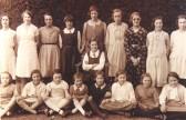 Sawty Village School, all girls class.