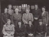 Members of the Sawtry W I, Sawtry.