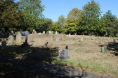All Saints Churchyard, Sawtry. (Clean up well under way by friends of All Saints.)