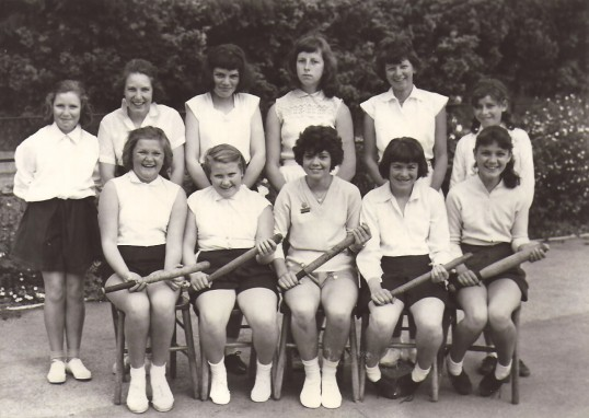 Rounders Team, Village School, Holme.