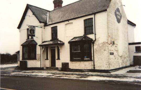 Royal Oak Public House, Sawtry. Soon to be demolished.
