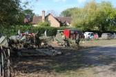 1940s weekend in Holme Village. American troops dug in.