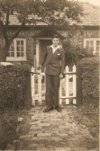 Harry Milford well known resident of Sawtry.
