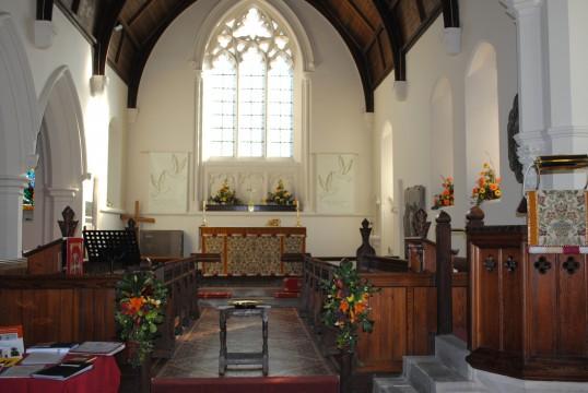 Thanksgiving Day at All Saints Church, Sawtry.