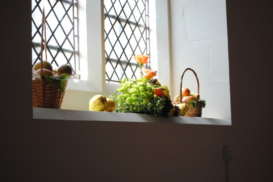 Thanksgiving Day at All Saints Church, Sawtry. (Flower & Fruit)