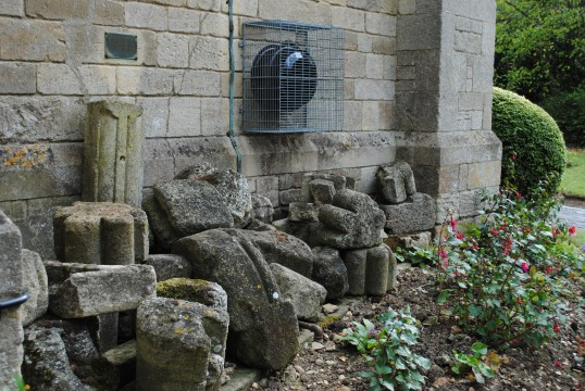Thanksgiving Day at All Saints Church, Sawtry. (Stones from Sawtry Abbey, outside the Church).