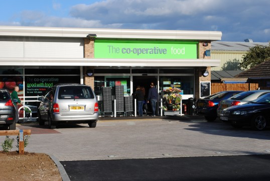 Opening of the new Co-op building Glatton Road, Sawtry.