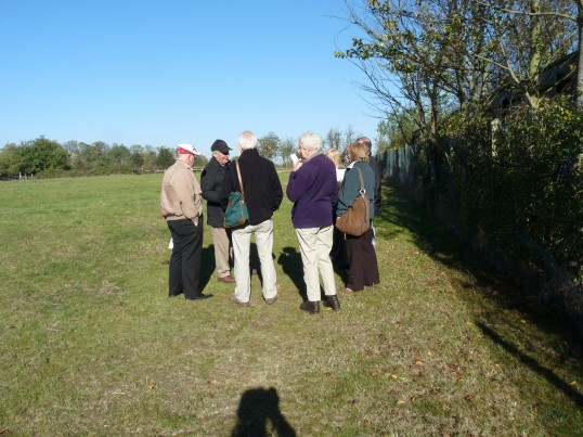 Sawtry History Society's, Village Walk, with Gordon Townsend. Learning the history of Sawtry.