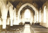 All Saints Church, Sawtry. Interior.