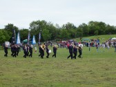 "Diamond Jubilee, ""picnic in the park "" St Judiths Field, Sawtry. On comes the band."
