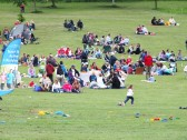 "Diamond Jubilee, ""picnic in the park "" St Judiths Field, Sawtry."