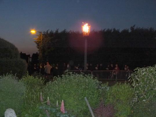 Queens Diamond Jubilee, lighting of the Beacon, Sawtry.