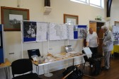 Sawtry History Society, open weekend in the Old School Hall, Sawtry, (Archeology)