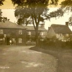 Holme Village Post Office. Before the road was straightened.