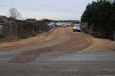Gidding Road Developement, Sawtry. (New road being constructed.)