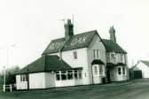The Royal Oak , Sawtry - was on the Old Great North Road. Demolished late 1996.. pub