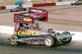 Allen Cooper of Sawtry racing in one of his modern Stock Cars