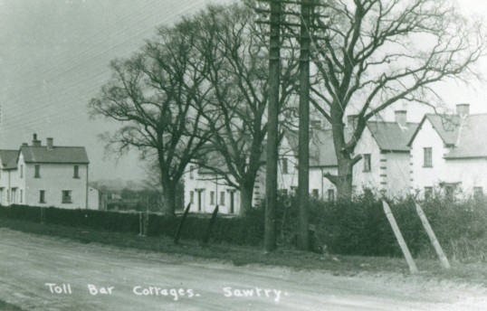 Toll Bar Cottages, Sawtry.  What year was this?